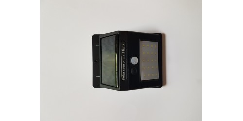 Lumière solaire 20 LED à détecteur de mouvement