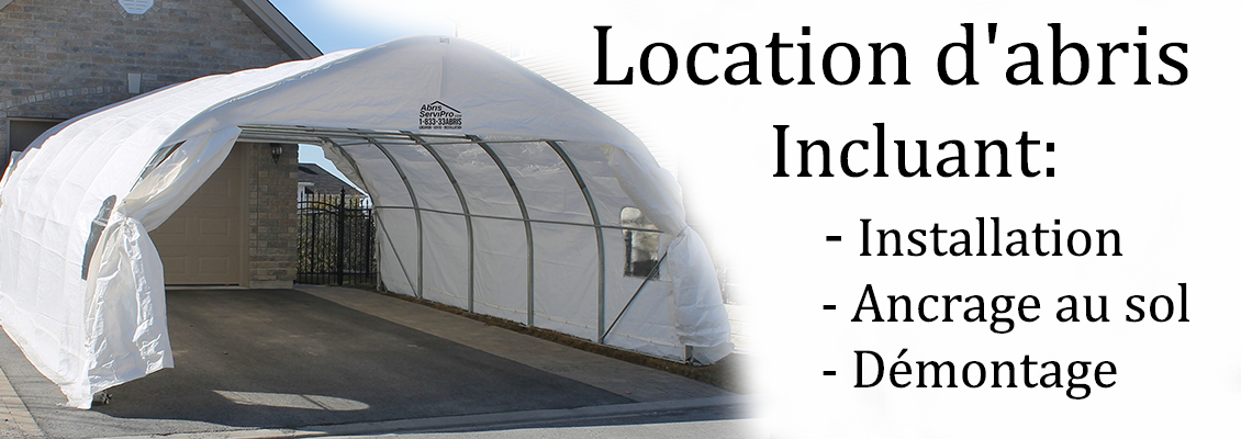 Car shelter rental